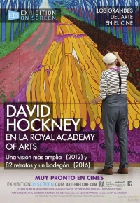David Hockney en la Royal Academy of Arts (2017)